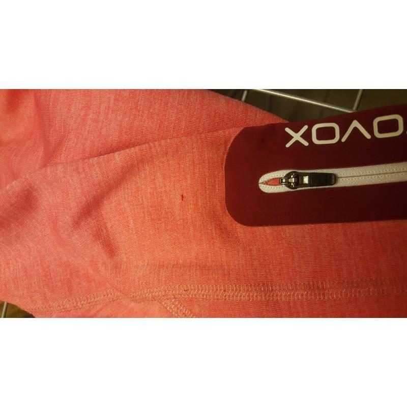 Billede 1 af Verena vedr. Ortovox - Women's Fleece Light Melange Zip Neck - Fleecesweatere